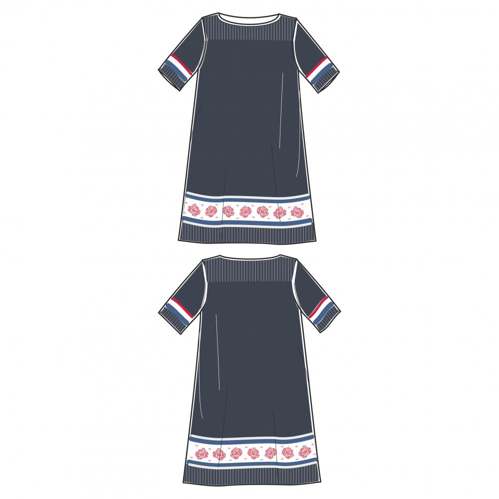 093847 Kobb Knitted dress